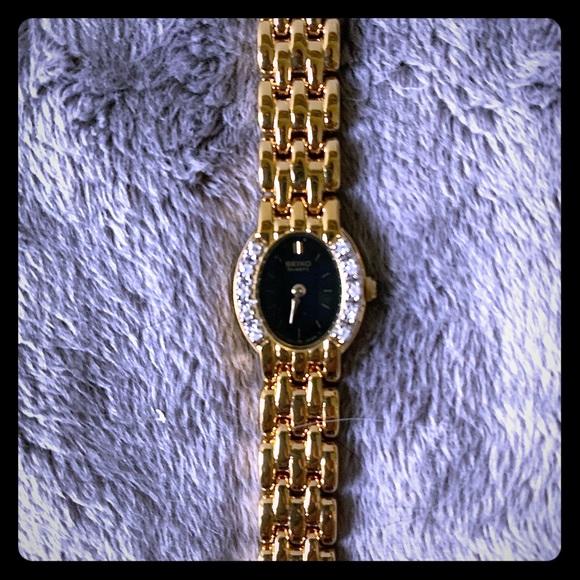 Seiko Jewelry - SEIKO Ladies Diamond Watch